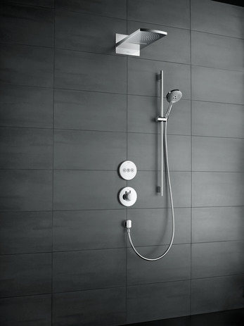 Hansgrohe Термостат для душа ShowerSelect S Highflow с клапаном для ручного душа, СМ арт.15742000. Изображение №4