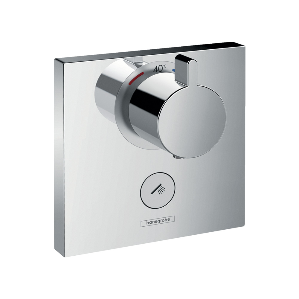 Hansgrohe Термостат для душа ShowerSelect Highflow с клапаном для ручного душа арт.15761000. Изображение №1
