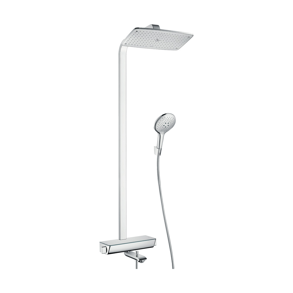 Hansgrohe Душевая система Raindance Select E 360 Showerpipe для ванны арт.27113000. Изображение №2