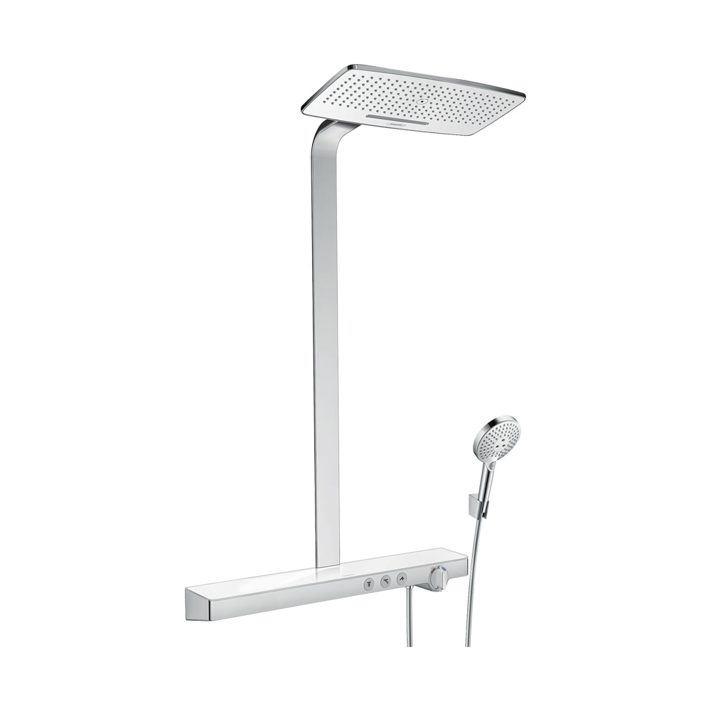 Hansgrohe Душевая система Rainмaker Select 420 2jet Showerpipe арт.27168400