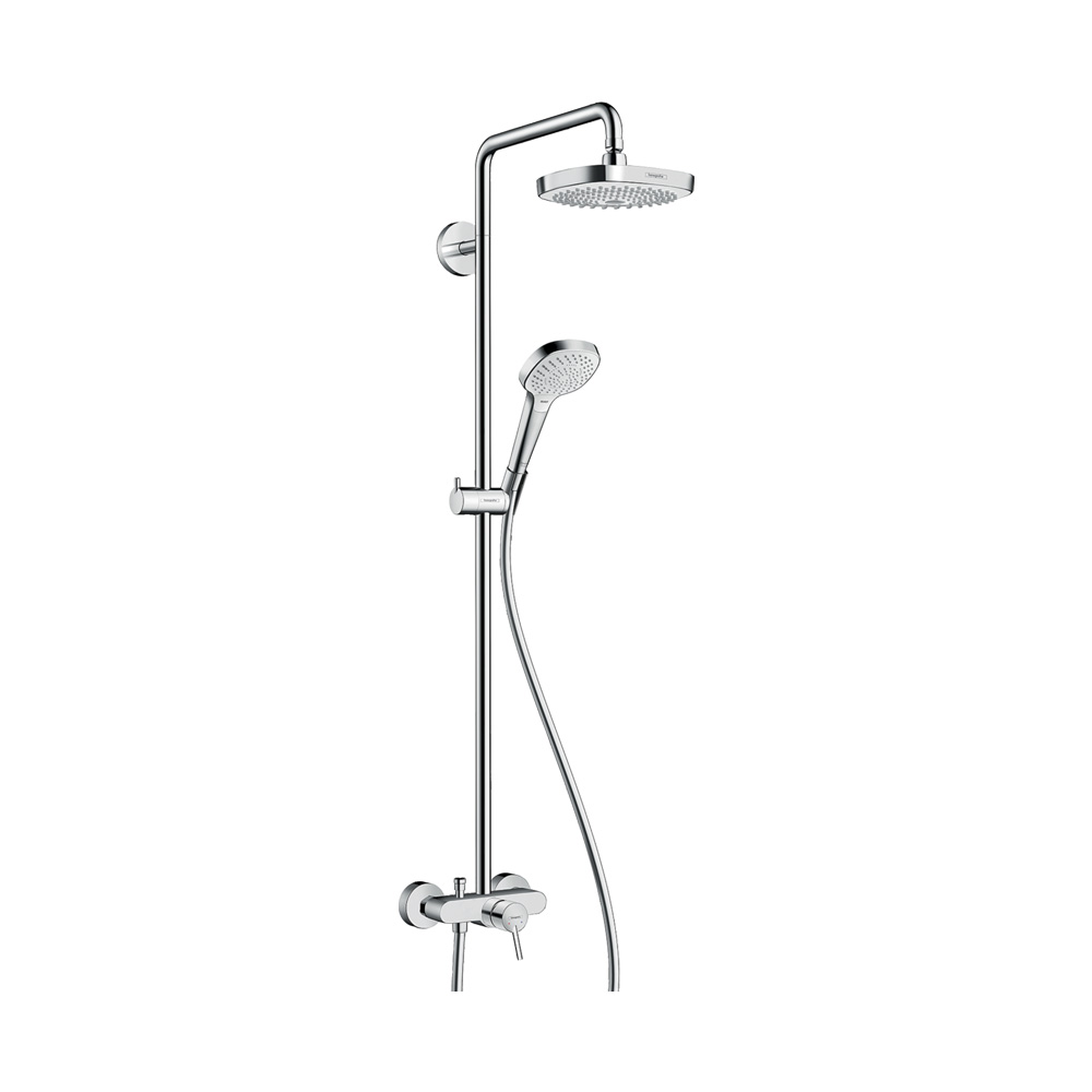 Душевая система Croмa Select E 180 2jet Showerpipe